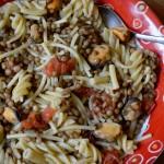 Pasta lenticchie e cozze