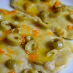 Petto di pollo arancia e olive