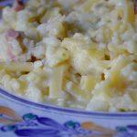 Pasta cavolfiore e prosciutto cotto