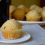 Muffin al Baileys e gocce di cioccolato