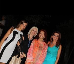 Beatrice Panzolini, Cristiana Curri, Eleonora Cesarini, Titti dell'Erba