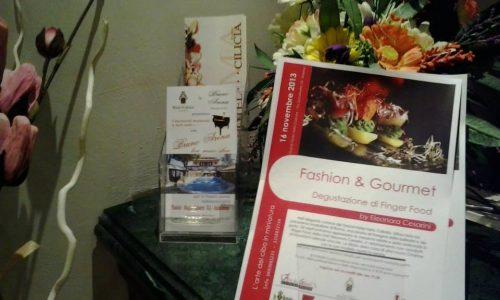 Fashion & Gourmet… con Charme!