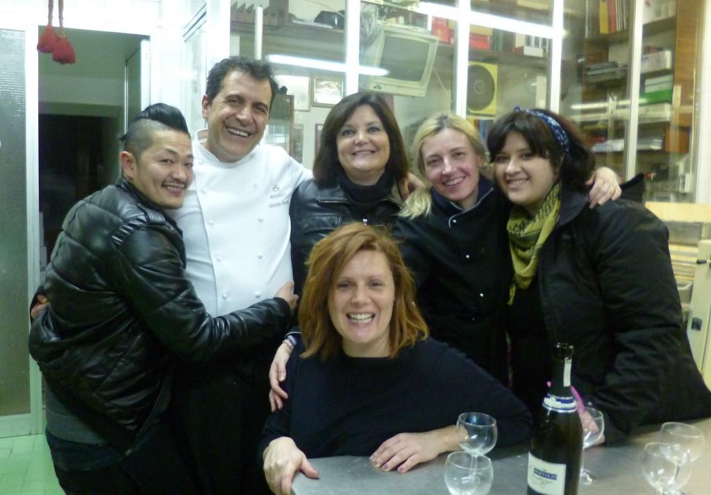 Ad Orvieto, Hirohiko Shoda, Antonio Scaccio, io, Letizia Castroni, Velia De Angelis e Giusy Rotelli