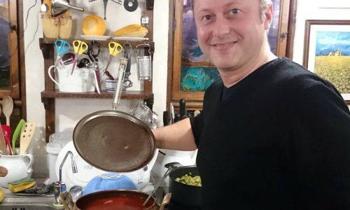 Salsa duls-e-brüsc di Daniele Persegani (confettura di pomodoro)