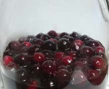 Liquore di cranberry