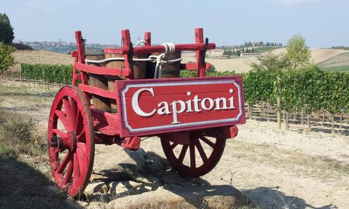 Cantina Capitoni in Val D'Orcia