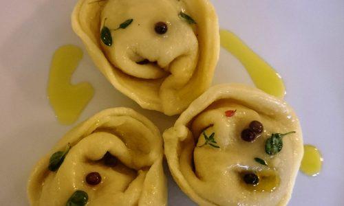 Tortelloni con paté di fagiano Boscovivo