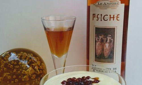 """Coppa allo yogurt greco con Moscato di Terracina Passito """"Psiche"""""""