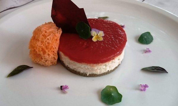 Cheese Cake di baccalà e pomodoro in 3 forme