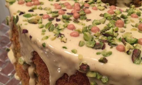 Chiffon Cake al Pistacchio by Laura Diatricch