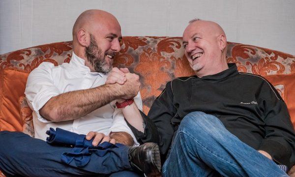 La coppia Usai-Viglietti diverte il pubblico milanese per l'ultima tappa di SINA Chefs' Cup Contest