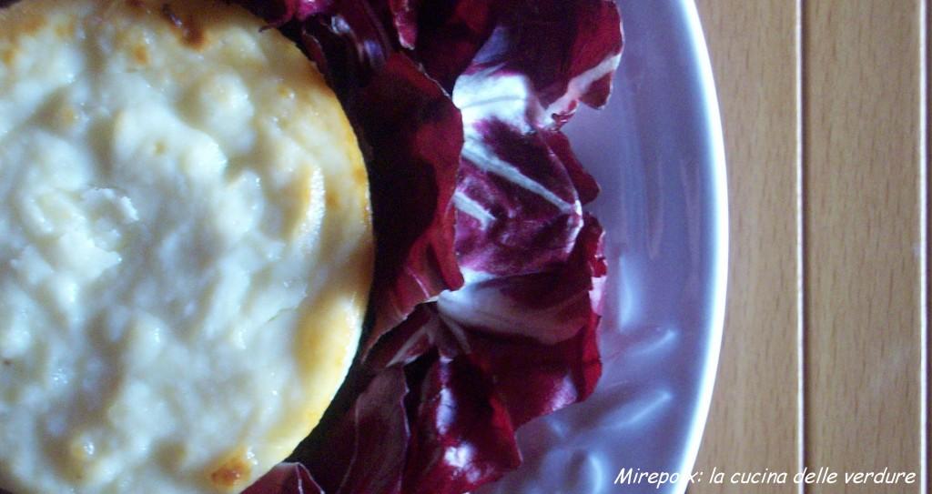 Sformatini di topinambur, ricetta delicata.