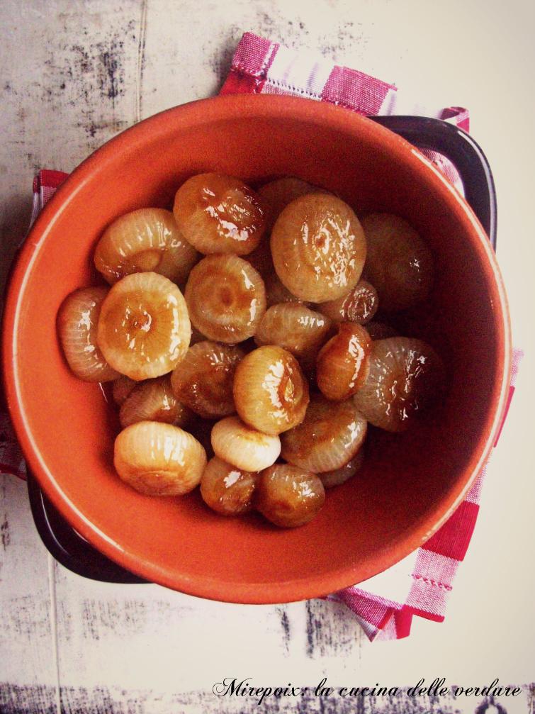 Cipolline caramellate alla salsa di soia