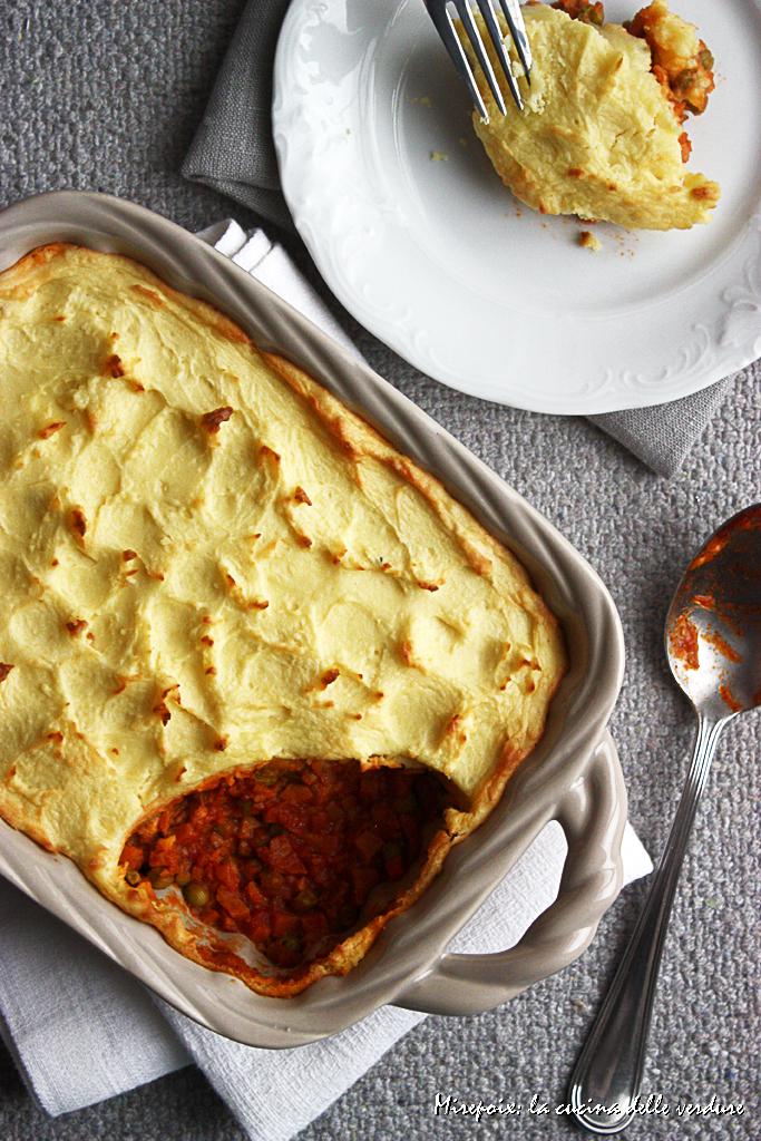 Shepherd's pie al seitan