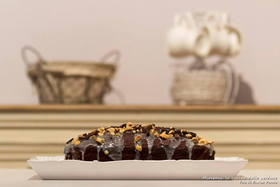 Plumcake sette vasetti al cacao