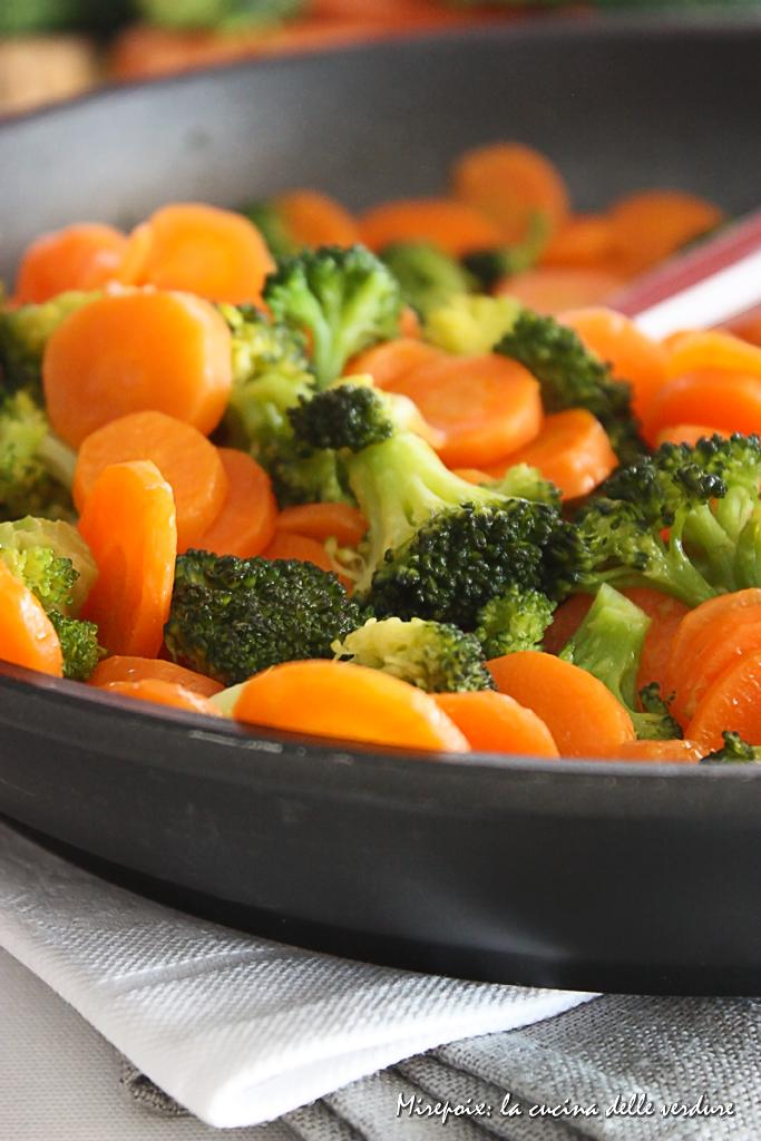 Broccoli e carote allo zenzero mirepoix la cucina for Cucinare zenzero