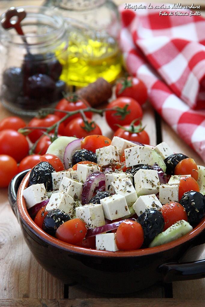 Insalata greca veg