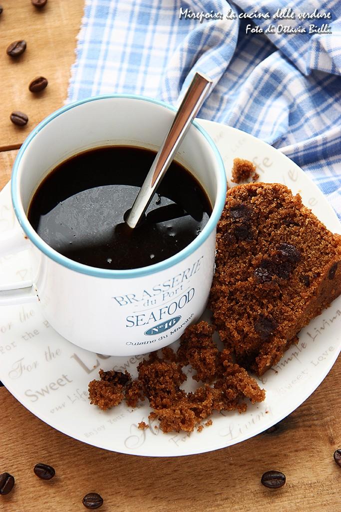 Torta al caffè e cioccolato fondente