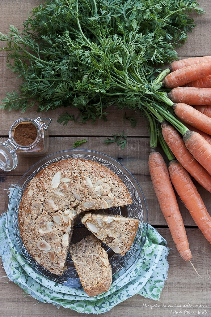 Torta di carote alla cannella