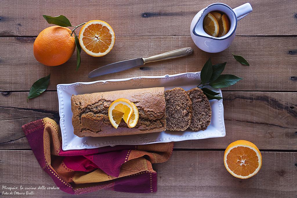 Plumcake al tè nero e arancia