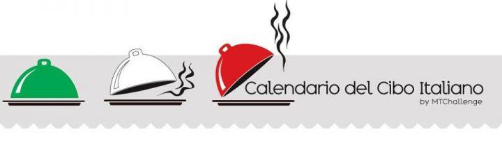 Calendario cibo italiano banner
