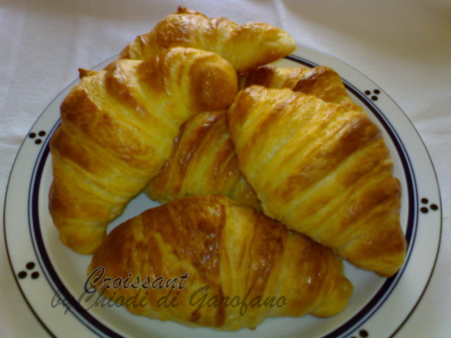 Il Croissant sfogliati alla Francese