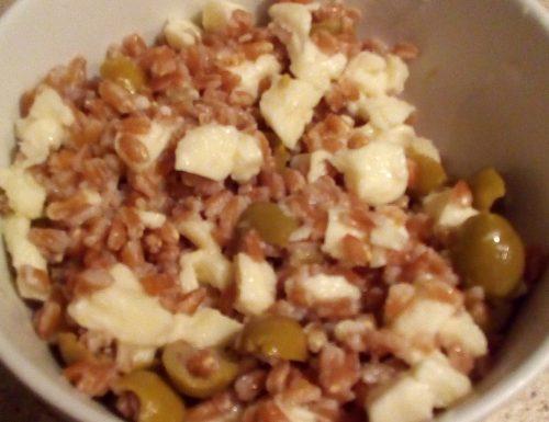 Farro in insalata