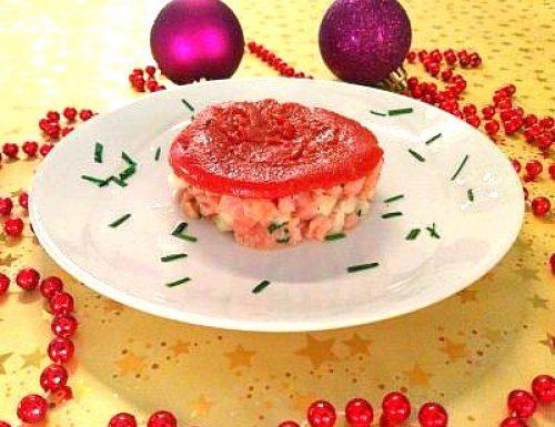 Tartare di salmone e mela verde