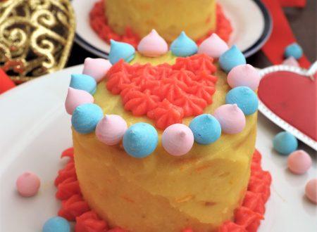 Mini tortine di San Valentino agli agrumi