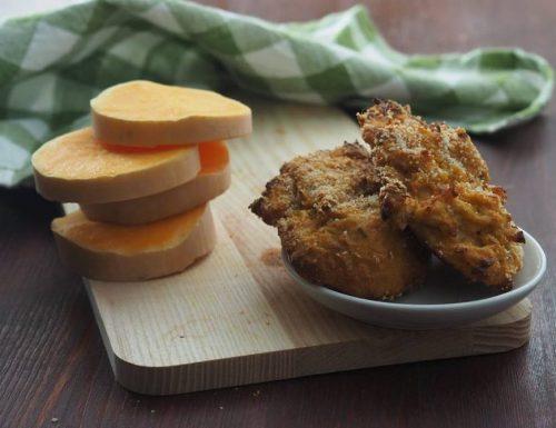 Schiacciatine di zucca e patate al forno