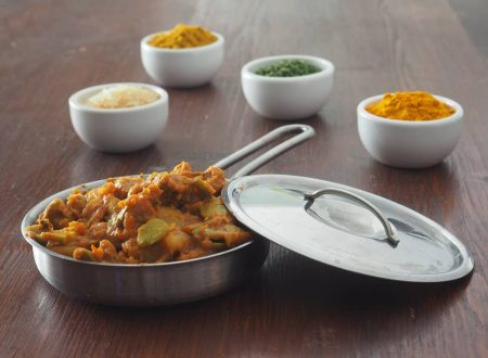 Dall'India: Curry di fave, fagioli, patate e anatra