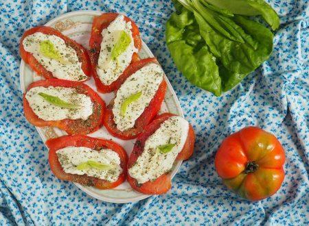 Caprese (mozzarella e pomodoro)