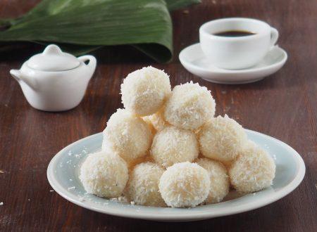 Palline di cocco al mascarpone