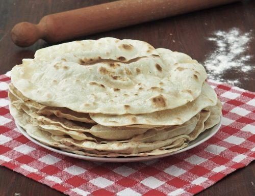 Come si fa: Tortillas di farina bianca