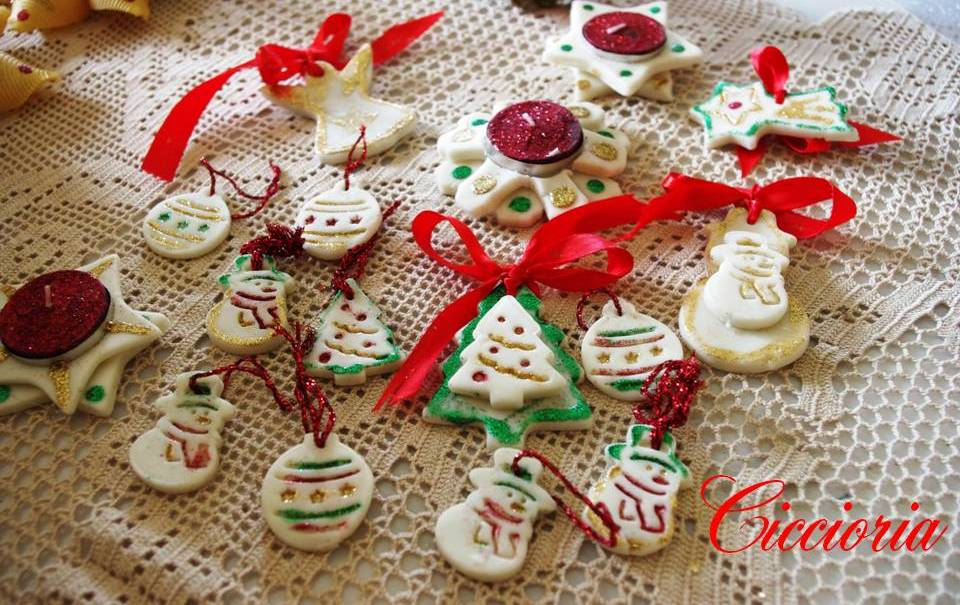 Pasta Di Mais Lavoretti Per Natale.Lavoretti In Pasta Di Mais