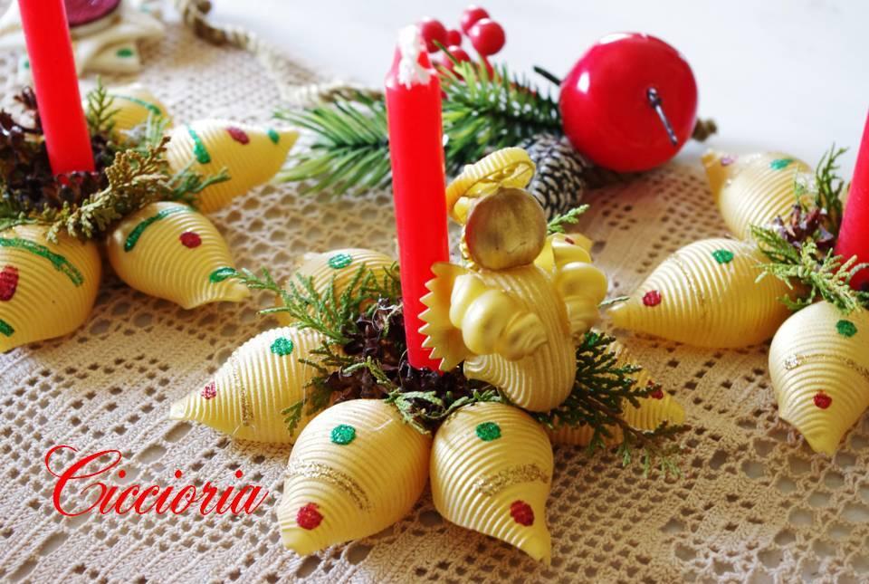 Lavoretti Di Natale Con La Pasta Di Mais.Lavoretti In Pasta Di Mais