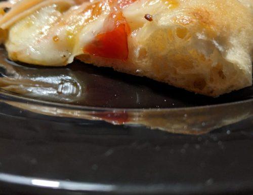 Pizza fatta in casa come quella delle pizzerie