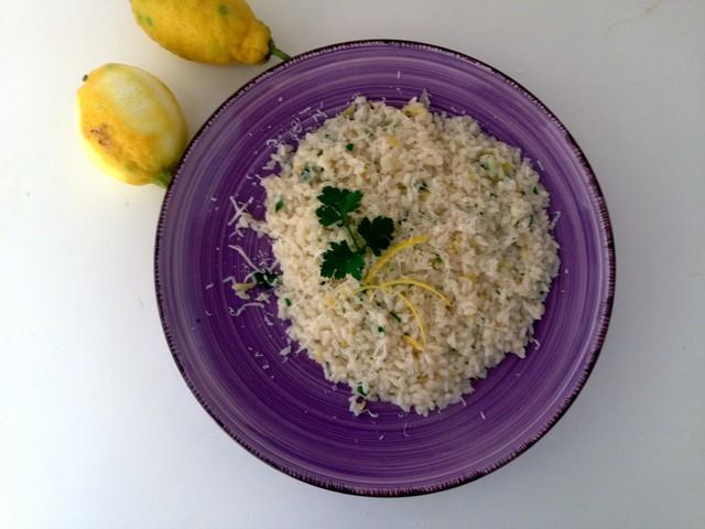 Risotto al limone: un gusto particolare e intenso nel piatto