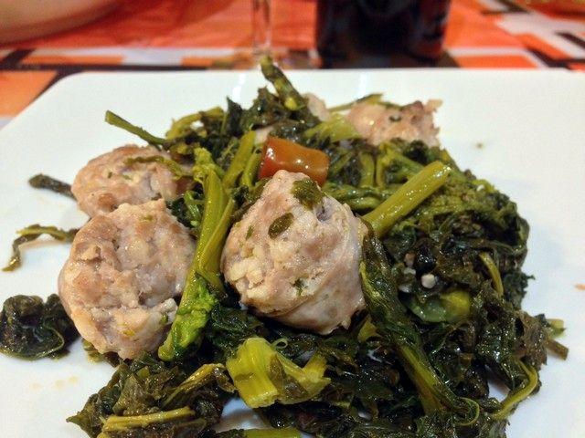 Broccoli e salsiccia, un classico a modo mio