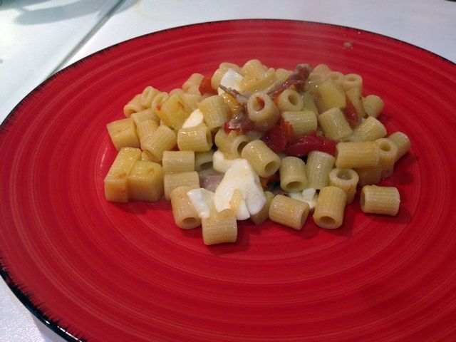 Pasta e patate sì, ma a modo mio