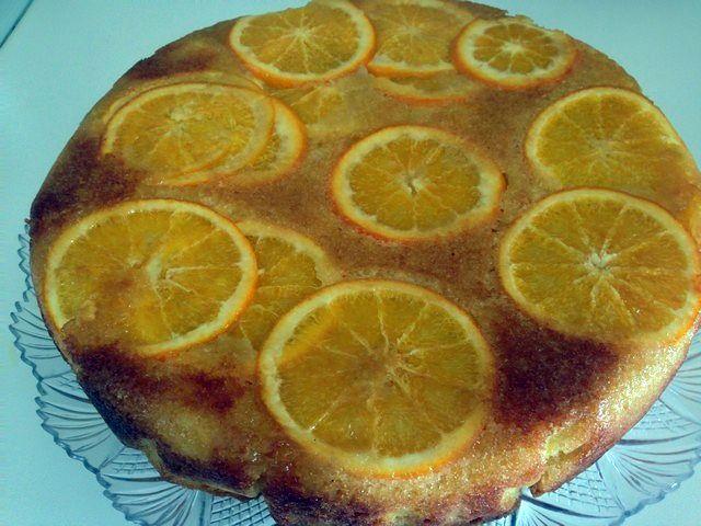 Torta all'arancia, tutti i profumi del Cilento