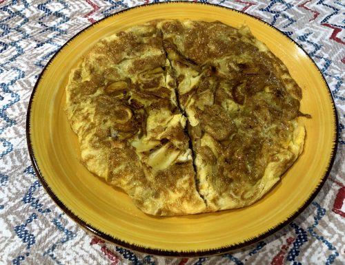 Ovoli in frittata, tutto il sapore del fungo