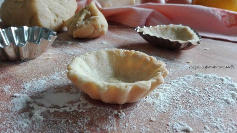 crostatine di pasta frolla