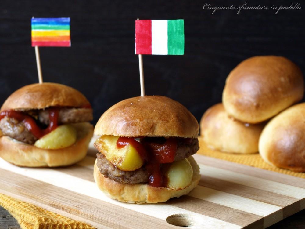 Panini per hamburger - Ricetta semplice