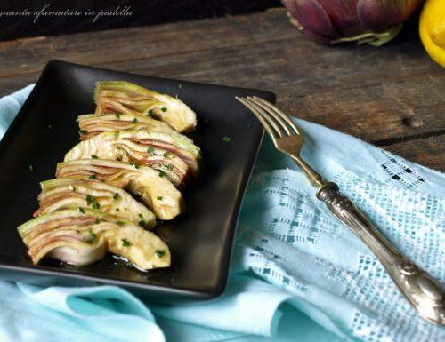 Carciofi in insalata – Ricetta veloce