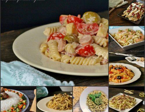 Raccolta di primi piatti estivi