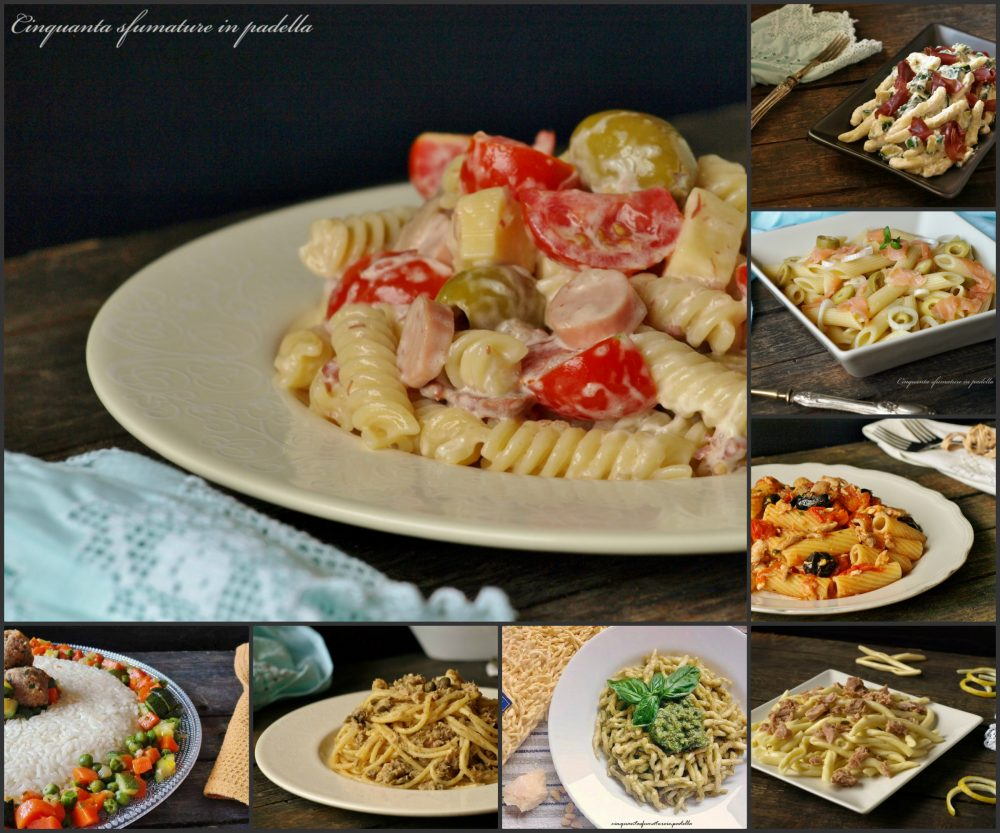 Raccolta di primi piatti estivi ricette semplici e veloci for Ricette veloci primi piatti