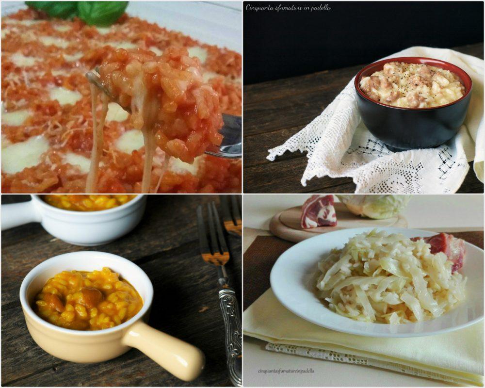 Raccolta di risotti tante ricette semplici e veloci per for Ricette risotti veloci