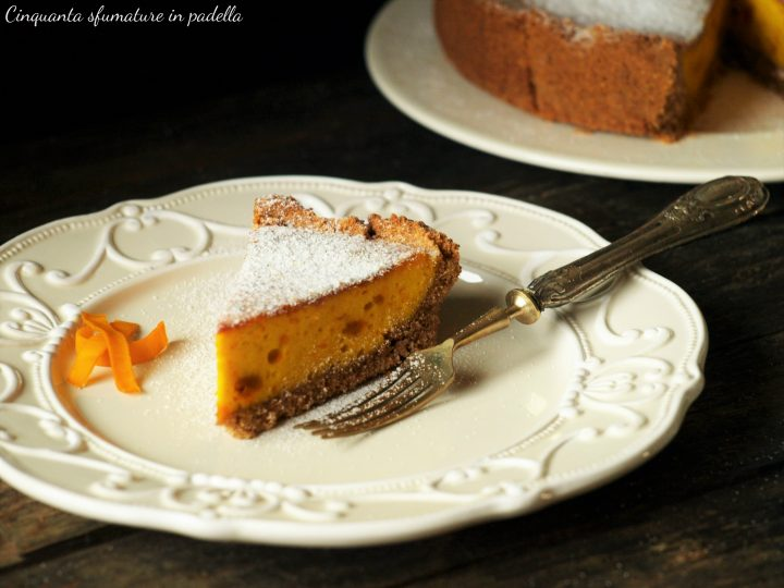 torta integrale alla zucca