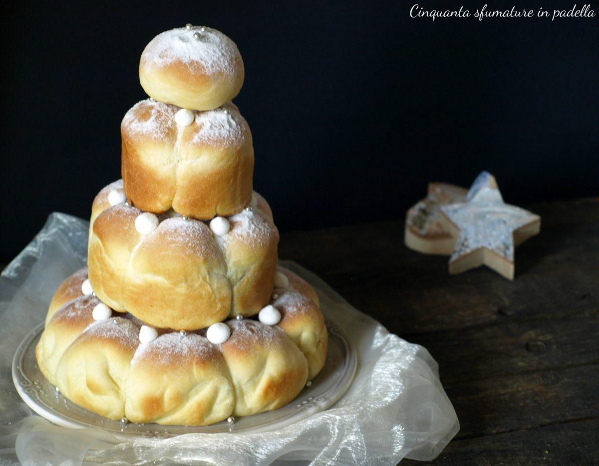 danubio natalizio alla nutella